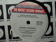 """Johnny Warman """"Screaming Jets"""" 1981 ROCKET NZ 7"""" 45rpm"""