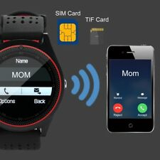 GSM IP67 Step Call SMS MP3 Clock Smart Watch For Kids Adult Apple Android Player