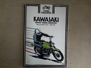 New Clymer workhop manual for KAWASAKI 250 & 350cc twins, 1966 - 1971. M352.