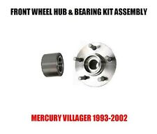 Mercury Villager Front Wheel Hub And Bearing Kit Assembly 1993-2002