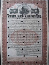 Wichita Falls and Northwestern Railway Company  1907