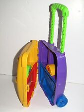 "Playskool   Child's  10"" Toy Travel Trolley Case with Pull-Along Handle"