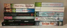 11x Bücher Buchpaket Krimi Romane Nicola Förg*Jörg Maurer*Föhr*Kruse