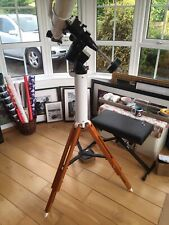 CG-5 Telescope Mount, Pillar, And Vixen Wooden Tripod
