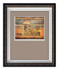 Paul KLEE SIGNED Lithograph on RICE Paper LIMITED Ed.n°230 Archival FRAMING