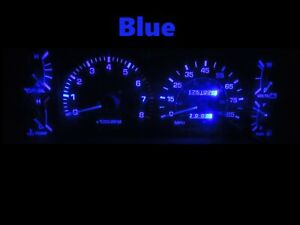 Gauge Cluster LED Dashboard Bulbs Blue For 84 88 Toyota Pickup SR5 4Runner