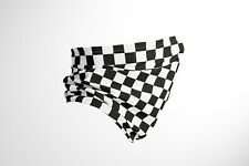 More details for chequered flag f1 - cotton snood/neck gaiter - uk made