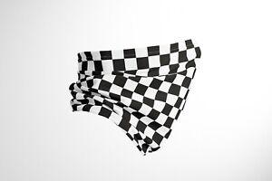 Chequered Flag F1 - Cotton Snood/neck gaiter - UK Made