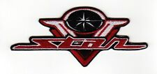 YAMAHA V STAR MOTORCYCLE EMBROIDERED IRON ON PATCH big twin cruiser biker