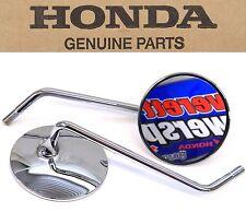 Honda Mirrors Mirror Set Many CT CL CB MT SL ST XL 70-750 cc(See Notes)OEM #L158