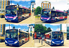 4 Bus Photos ~ Stagecoach Warwickshire - ADL Enviro 200s - Kenilworth June 2015