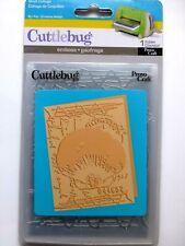 Cuttlebug Embossing Folder --- Shell Collage