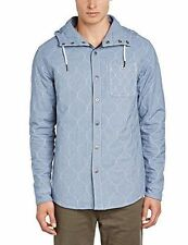 Voi Jeans Men's Slim No Pattern Casual Shirts & Tops