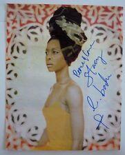 Erykah Badu Sexy Signed Autographed Magazine Page Photo Psa Bas Guaranteed #2 F6