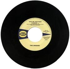 THE UNIQUES Give Me Another Chance / ETERNAL FLAMES Hi Off..NEW FUNK SOUL 45 BGP