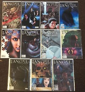 Angel 20-23 After the Fall 13 14 Blood & Trenches Not Fade Away Buffy Comics Lot