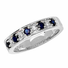 Unbranded Sapphire White Gold Fine Rings