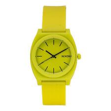 Nixon Time Teller P Unisex Neon Yellow Silicon Strap Analog Watch A1191262
