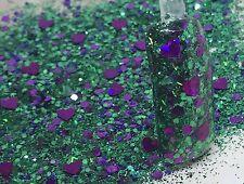 glitter mix acrylic gel nail art Glendora limited edition