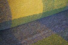 041142 Boiled wool Fabric Diamond Shaped Mustard Loden Walkstoff 1m x 1,6 m