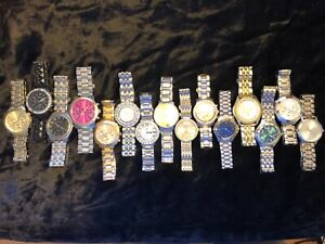 Watches - 18+ lbs bulk lot 150 ct preowned nice basic metallic wristwatches