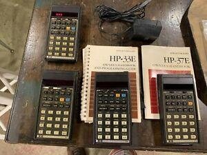 Working HP 38E Calculator plus calculators for parts