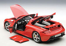 Autoart PORSCHE CARRERA GT RED Color in 1/18 Scale. In Stock!
