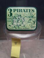 Three Pirates Condom Tin - 1930s - RARE