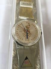 Original Uhr SWATCH German Olympic Team (GZ150D)-Swiss Made-NEU/OVP-Deutschland