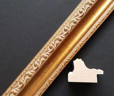 """18"""" x 24"""" Ornate Antique Gold Leaf Ornate Wood Picture Frame Unassembled"""