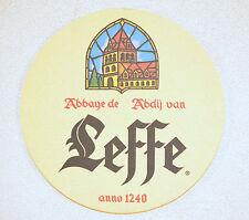 Beer Coaster Leffe from Belgium