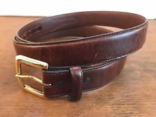 DDD Leather Belt with Heavy Duty Buckle Mens Size 48