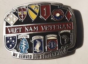 Military Buckle Gürtelschliesse/ Vietnam Veteran. / USA