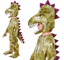 Disfraz de Halloween vestido elegante Dinosaurio Para Niños Chicos Childs Niños Traje M