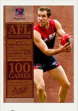2012 Select AFL Champions Milestone Card MG41 Joel Macdonald (Melbourne