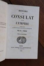 Histoire du Consulat et de l'Empire Napoléon I par Thiers 1860 Tome 18 1814-1815
