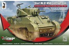 MIRAGE HOBBY 726089 1/72 Light tank Stuart Mk.VI M5A1 (Late)