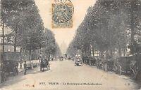 CPA 75 PARIS VIIIe LE BOULEVARD MALESHERBES