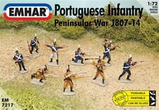 Gli EMHAR 1/72 LA FANTERIA portoghese & Cazadores guerra d'indipendenza spagnola NAPOLEONICO # 7217