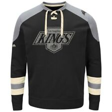 "Los Angeles Kings Majestic NHL ""Vintage Centre"" Men's Pullover Crew Sweatshirt"