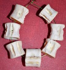 Real Fish Bone Vertebrae Tribally Made Protection Beads Africa - African Trade