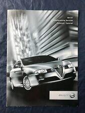 Brochure Caratteristiche Tecniche Alfa Gt