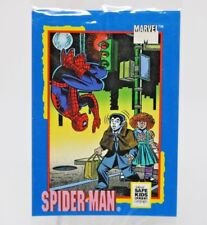 MARVEL Spider-Man 1991 IMPEL TRADING CARD TREATS SAFE KIDS sealed pack