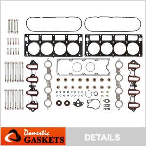 Fits 01-03 Chevrolet Silverado GMC Sierra Yukon 6.0L OHV Head Gasket Set Bolts