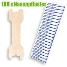 100x Nasenpflaster Better Breath Nasal Strips Pflaster Besser Atmen Schnarchen L