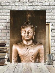 SUPERB BUDDHA CANVAS PICTURE #70 SPIRITUAL ASIAN ZEN RELIGIOUS CANVAS WALL ART