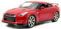 1:24 Jada 2009 NISSAN GT-R (R35) (Red) - Bigtime Kustoms Diecast Model Car 96811