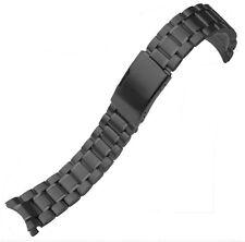 22mm CURVED STAINLESS STEEL OYSTER BRACELET Fit SEIKO 7S26,SKX007,SKX009,SKX011
