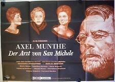 Axel Munthe Der Arzt von San Michele Filmposter A0 O.W. Fischer Sonja Ziemann Qu