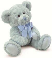 RUSS Berrie Newborn Boy Blue Teddy Bear Sweet Beginnings Baby Safe Medium